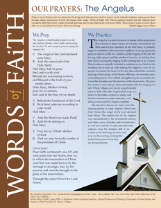 Words of Faith: Our Prayers (The Angelus) [PDF License]