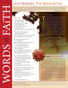 Words of Faith: Our Prayers (The Benedictus) [PDF License]