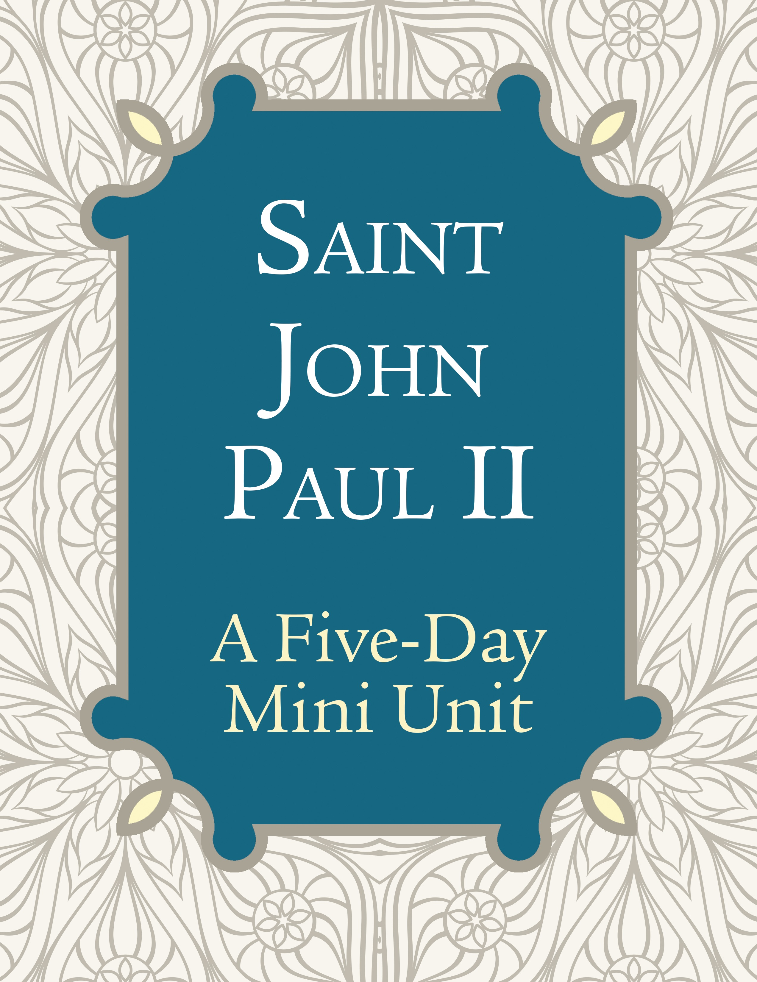 St. John Paul II [PDF License]