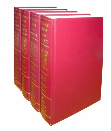 Butler's Lives of the Saints (4-Volume Set)