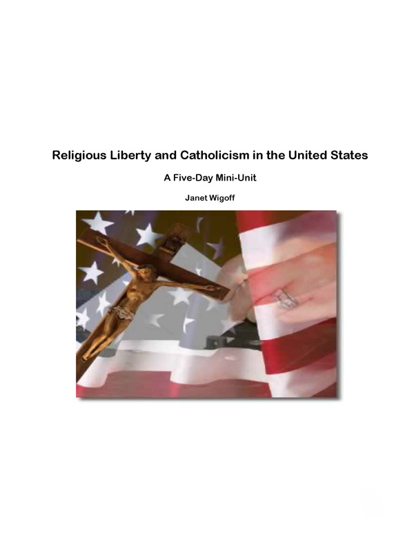 Religious Liberty and Catholicism in the United States