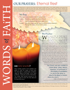 Words of Faith: Our Prayers (Eternal Rest) [PDF License]
