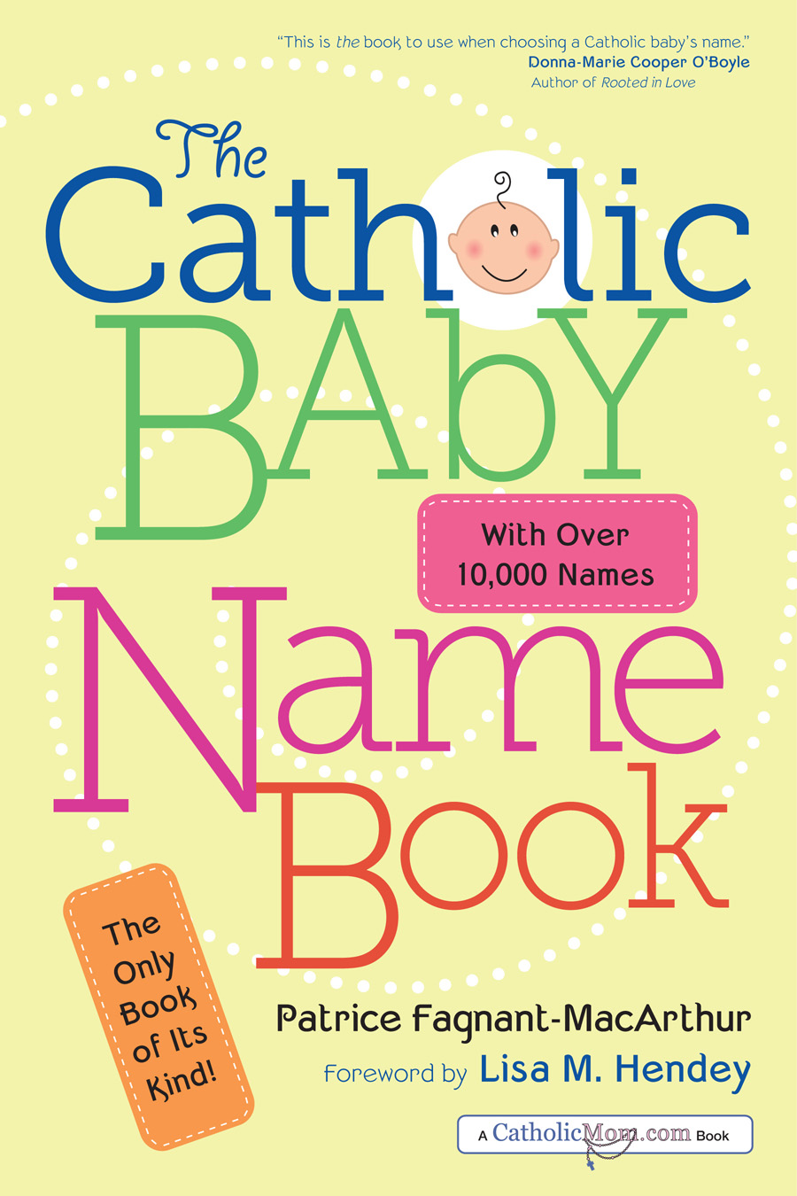 The Catholic Baby Name Book