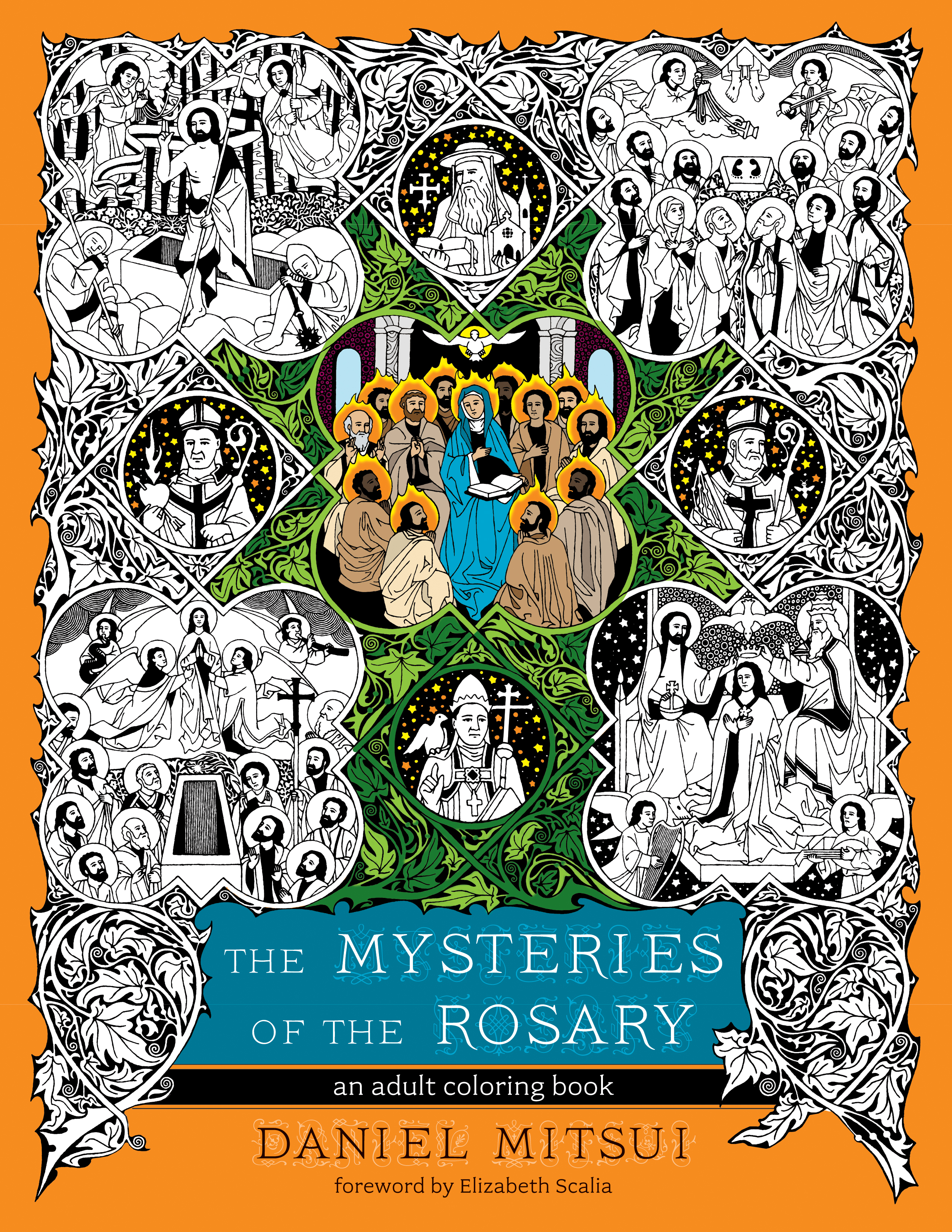the mysteries of the rosary an coloring book ave maria press